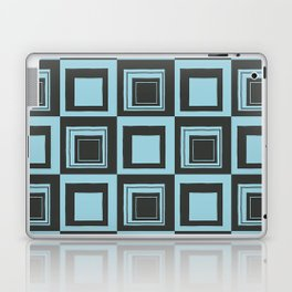 Blue Squares Laptop & iPad Skin