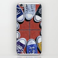 shoes iPhone & iPod Skins featuring Shoes by Giorgio Arcuri
