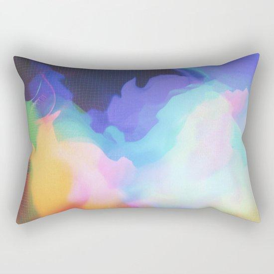 Glitch 03 Rectangular Pillow