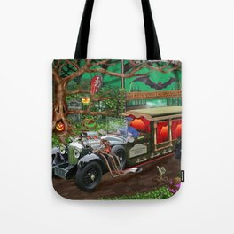 Graveyard Ghost Tours Tote Bag