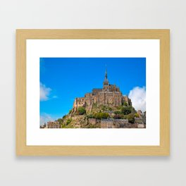 Mont Saint-Michel Framed Art Print
