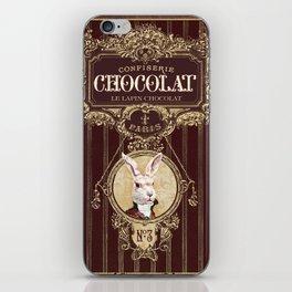 Chocolate rabbit iPhone Skin