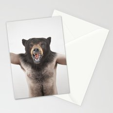 Therianthrope - Angry Bear Stationery Cards
