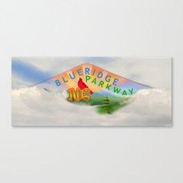 Blue Ridge Parkway - NC Canvas Print