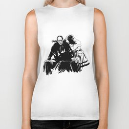 The end of the ghosts love story Biker Tank