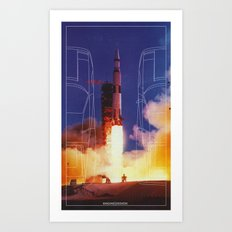 Engine | Design Art Print
