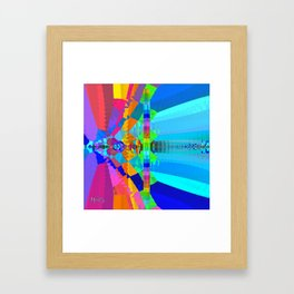 Chromesthesia Two Framed Art Print