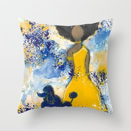 RHOyal Angel Throw Pillow