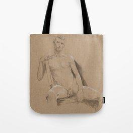 danny sitting Tote Bag