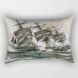 The Flying Dutchman Rectangular Pillow