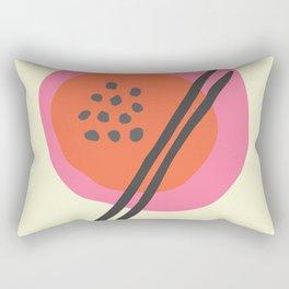 Frugal Food Sixties Rectangular Pillow