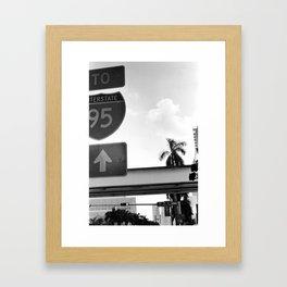 Interstate Framed Art Print