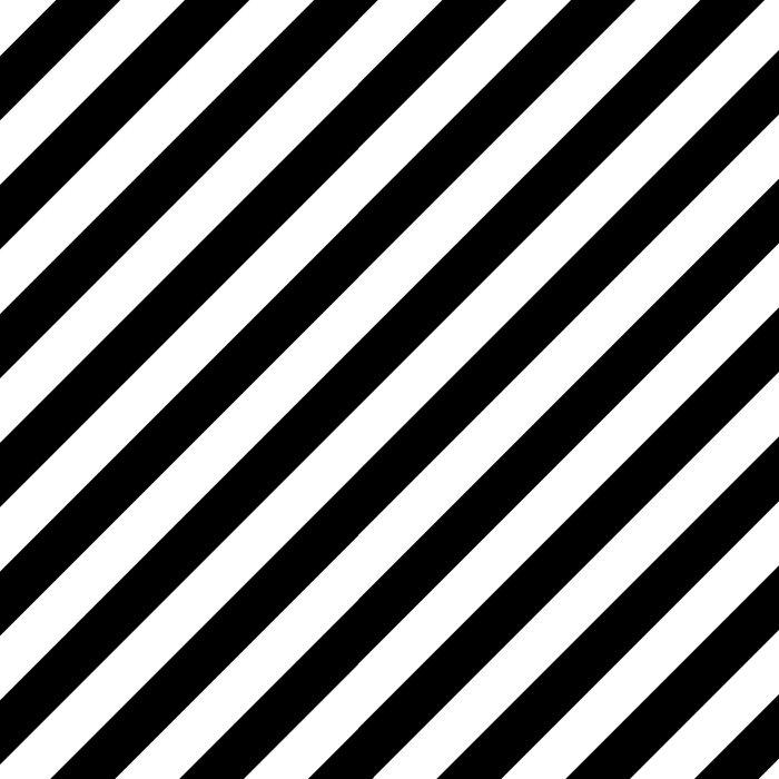 Diagonal Stripes (Black/White) Leggings