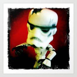 Zombie Stormtrooper Attack Art Print