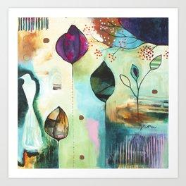"""Abundance"" Original Painting by Flora Bowley  Art Print"