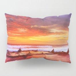 Evening flame Pillow Sham