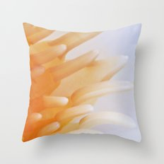 Water Lilly - heart Throw Pillow