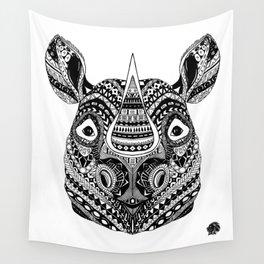 Elilia Rhino Wall Tapestry