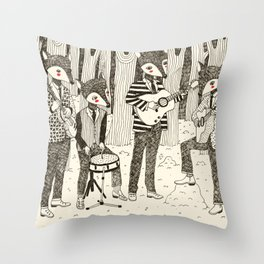 The Band Throw Pillow