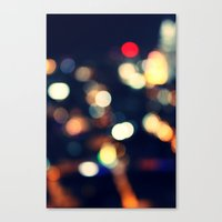 the lights Canvas Prints featuring Lights  by sasan p