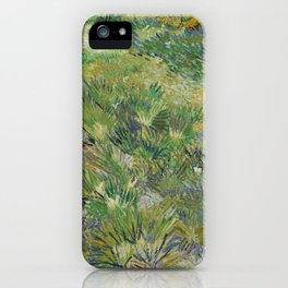 Long Grass with Butterflies iPhone Case