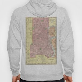 Vintage Map of Omaha Nebraska (1903) Hoody