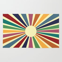 Sun Retro Art II Rug