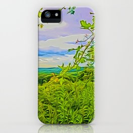 Parbold Hill (Digital Art) iPhone Case