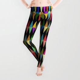 Harlequin loves multicolored rhombus Leggings