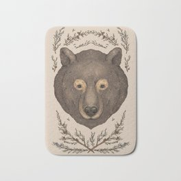 The Bear and Cedar Bath Mat