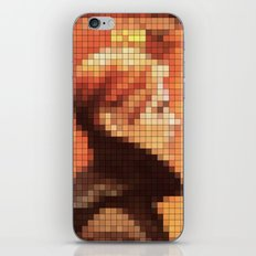 Bowie : Low Pixel Album Cover iPhone & iPod Skin