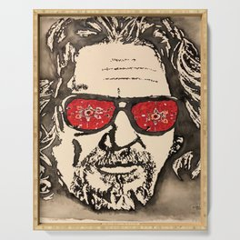"""""""The Dude Abides"""" featuring The Big Lebowski Serving Tray"""