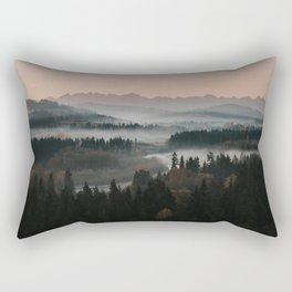 Good Morning! - Landscape and Nature Photography Rectangular Pillow