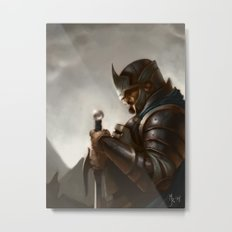 knight Metal Print