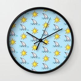 Summer Sun II Wall Clock