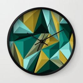 Polygon 3 Wall Clock