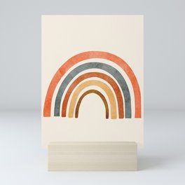 Abstract Rainbow 88 Mini Art Print