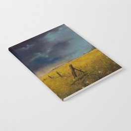 Rolling Thunder Pastel Art Print Notebook