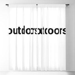 outdoors Blackout Curtain