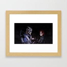 We're safe, Jane Framed Art Print