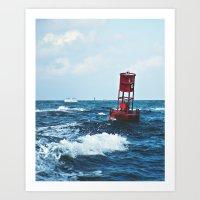Buoy #6 Art Print