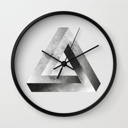 Mystical Impossible Triangle Wall Clock