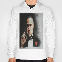 godfather Hoodies featuring The Godfather by Tridib Das