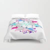 bright Duvet Covers featuring Bright by Jozi