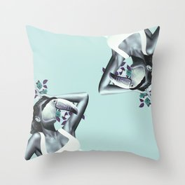Soap Stroker Throw Pillow