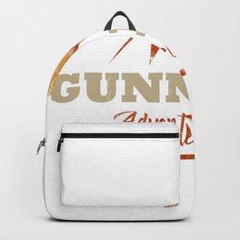 Gunnison Camping  TShirt Adventure Camp Shirt Camper Gift Idea Backpack