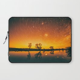 World Spins Madly On Laptop Sleeve