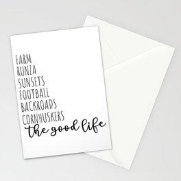 The Good Life NE Stationery Cards