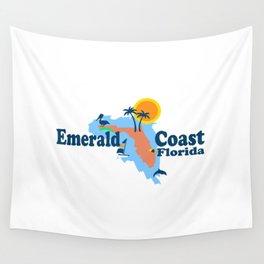 Emerald Coast - Florida . Wall Tapestry
