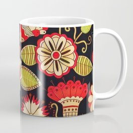 Blooms Butterflies and Ladybugs Coffee Mug